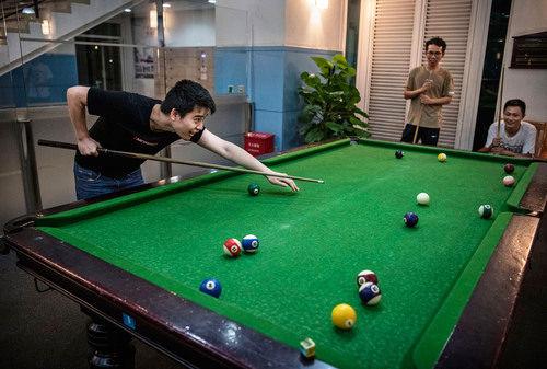 وسایل ورزش و سرگرمی برای کارمندان فراهم شده است.
