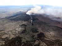 فوران آتشفشان در هاوایی +تصاویر