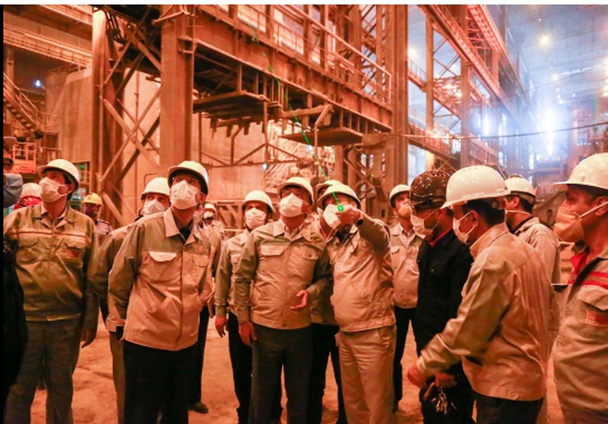 افزایش دوبرابری ظرفیت تولید محصولات ویژه در فولاد مبارکه