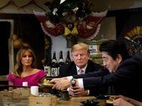 بازدید دونالد ترامپ و همسرش از توکیو به روایت تصویر