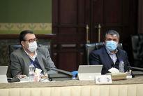 برگزاری جلسات هیات دولت با رعایت مسائل بهداشتی +عکس