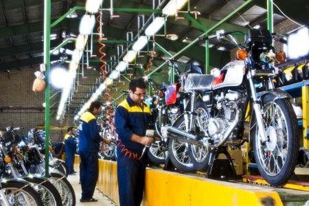 تولید موتورسیکلتهای بدون یورو۴ متوقف شد