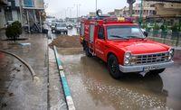 باران پاییزی در نخستین شهر خشتی جهان +عکس