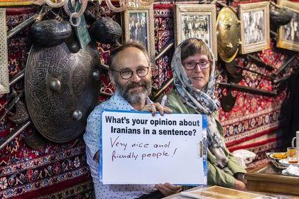 توریستهای خارجی از ایران چه میگویند؟ +تصاویر