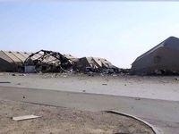 گزارش شبکه عراقی از خسارات وارده به عین الاسد +فیلم