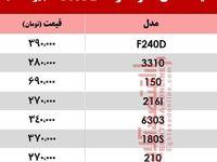 قیمت انواع موبایلهای ارد +جدول