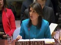 هیلی: تصمیم انتقال سفارت به قدس ربطی به کشتار فلسطینیان ندارد!