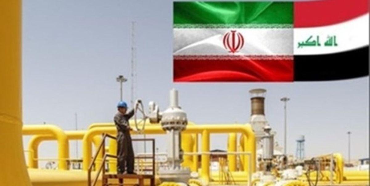 صادرات گاز ایران به عراق ۴۱ میلیون متر مکعب کمتر شد
