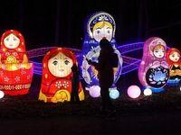 فانوسهای جادویی چین در مسکو +تصاویر