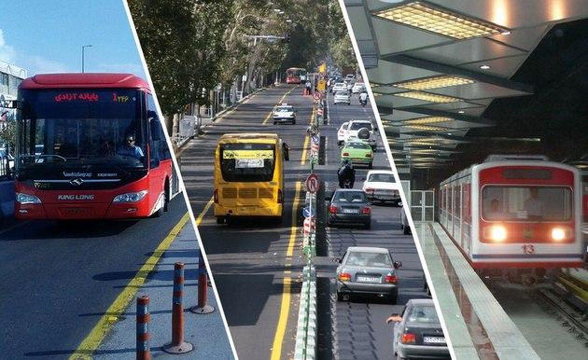 تصمیم خلقالساعه در کاهش ساعت مترو و اتوبوس