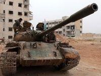 عاملان ویرانیهای حلب +تصاویر