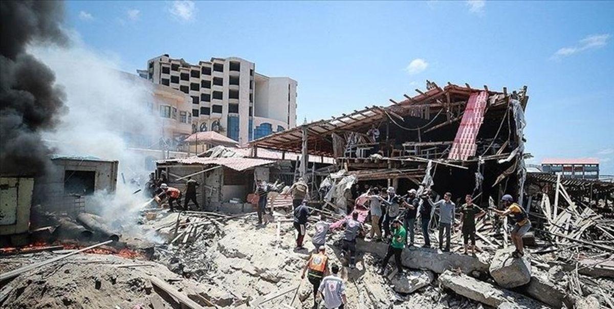 دو هزار خانواده در نتیجه جنگ غزه بی خانمان شدند