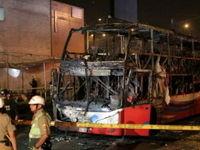 آتشسوزی مرگبار اتوبوس در پرو