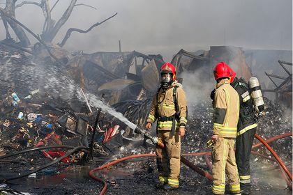 آتش سوزی در خیابان فدائیان اسلام +عکس