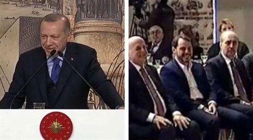 خندههای اردوغان در ترکیه جنجال به پا کرد