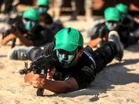 آموزشهای نظامی حماس برای نوجوانان غزه +تصاویر
