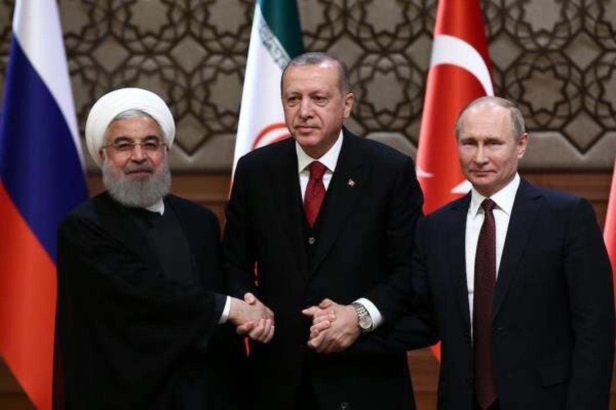 ایران، ترکیه و روسیه بر حمایت از یک «سوریه مستقل» تأکید کردند