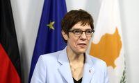 وزیر دفاع آلمان وارد عراق شد