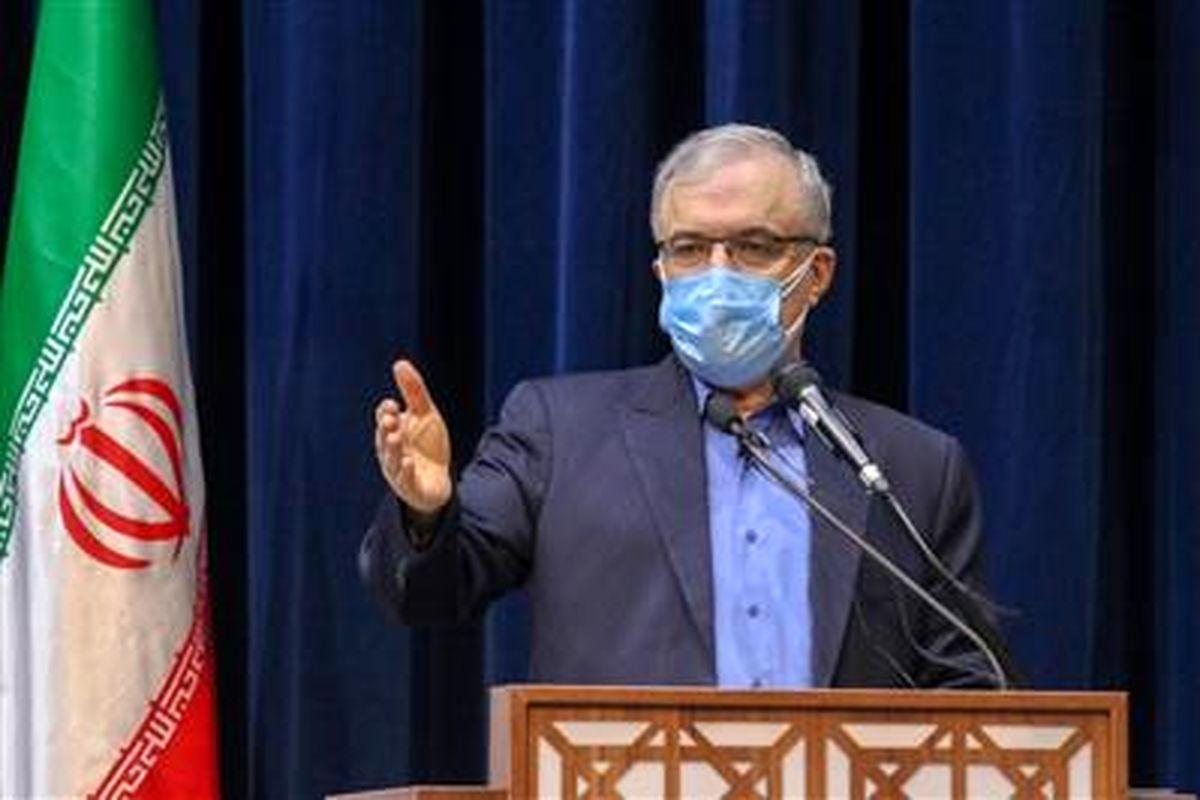 تقدیر وزیر بهداشت از فولادمبارکه در حمایت مالی و تجهیزاتی در کنترل کرونا