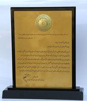 تندیس رضایتمندی مشتری به بانک ملی ایران رسید +عکس