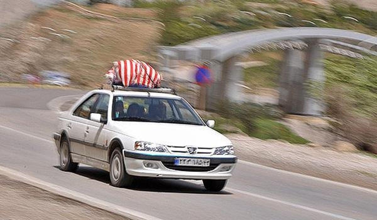 ۴.۱درصد افزایش سفرهای برونشهری