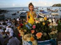 جشن الهه دریا در برزیل +تصاویر