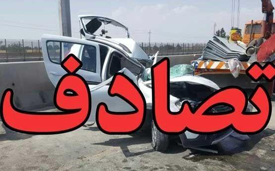 ۵عضو یک خانواده در حادثه رانندگی کشته شدند +عکس