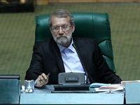 لاریجانی: وزیر صنعت ماهانه به مجلس گزارش دهد/ حمایت از تولید داخل عزم ملی نیز میخواهد