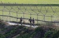 لشکرکشی کره شمالی به سمت مرز با کره جنوبی