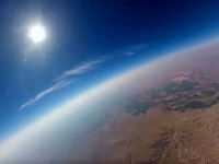 ثبت تصویری شگفتانگیز از خورشید گرفتگی +عکس