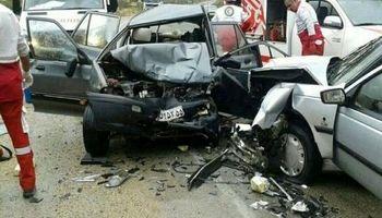 تصادف وحشتناک در جادهای در روسیه +فیلم