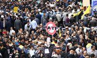 راهپیمایی یوم الله ۱۳ آبان در تهران +عکس