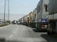 ۲۲ کامیون عراقی پشت مرزهای ایران