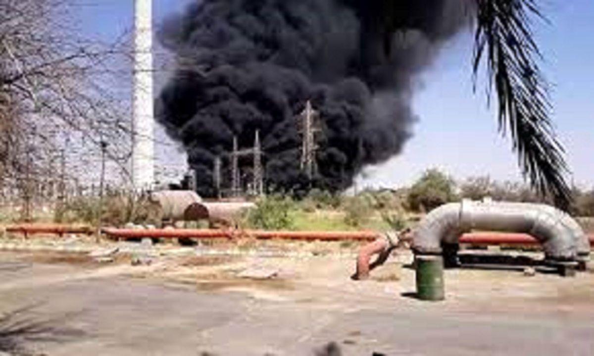 دلیل آتش سوزی در نیروگاه زرگان اتصالی ترانسفورماتور بود