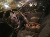 گزارش تصویری از حمله به اتومبیلهای خبرنگاران در اصفهان