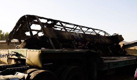 اعلام اسامی جان باختگان تصادف اتوبوس سنندج