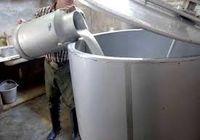 ۲۰۰هزار تُن شیرخام فرآوری و صادر شد
