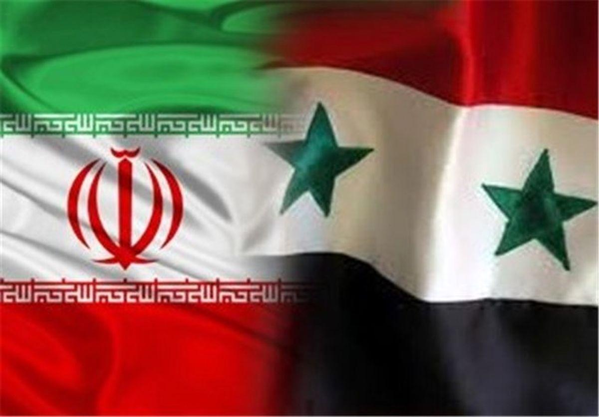 بهبود روابط تجاری ایران و سوریه، خواسته دو کشور است