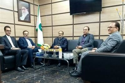 شناسایی ظرفیتهای ایلام در بازدید عضو هیات مدیره بانک قرض الحسنه مهر ایران