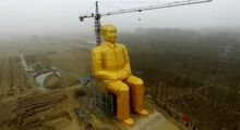 مجسمههای غولپیکر در چین +تصاویر