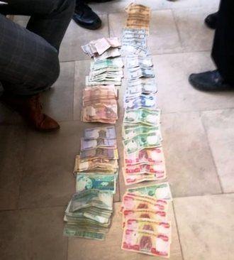 دستگیری گدای میلیونر در بوکان +عکس