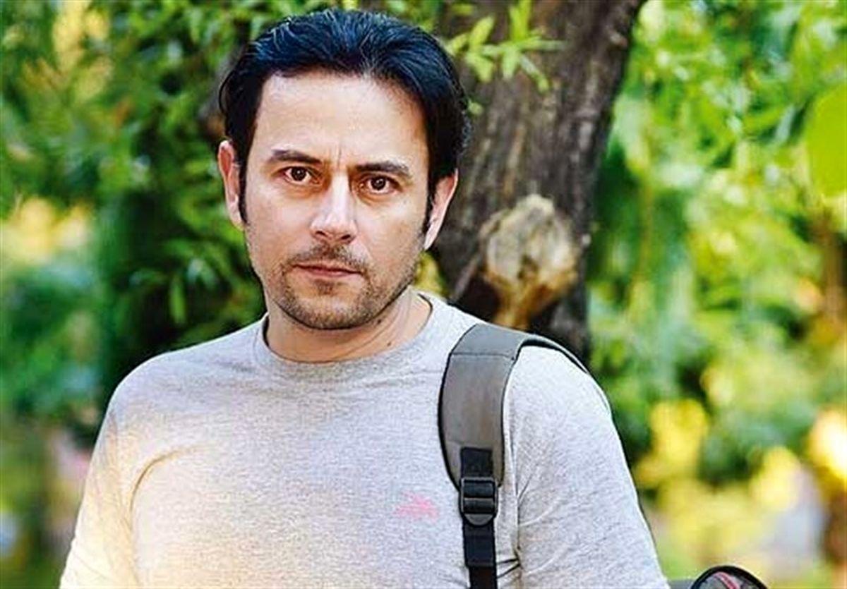 رحیم نوروزی در کنار همسرش + عکس