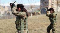 تشکیل گردان زنان برای نبرد در قرهباغ