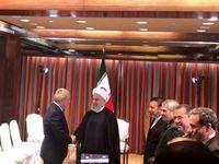 رئیس کمیته بینالمللی المپیک با رییسجمهوری دیدار کرد