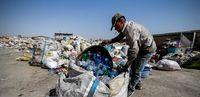 بازیافت ضایعات پلاستیکی در همدان +عکس