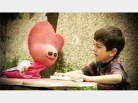 لیلی رشیدی در کنار بازیگر کودک سریال زیزیگولو +عکس