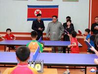 عشق و علاقه رهبر کره شمالی به کودکان +تصاویر