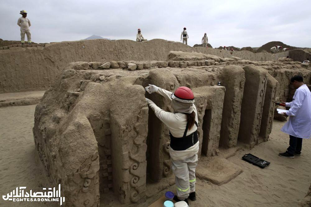 بتخانه باستانی در پرو