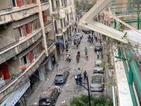 از سرگیری مجدد ناآرامیها و درگیری در اطراف پارلمان لبنان +فیلم