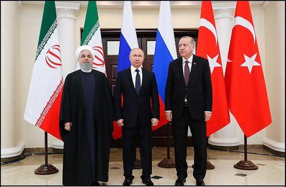 تاکید ایران، روسیه و ترکیه بر استقلال و تمامیت ارضی سوریه
